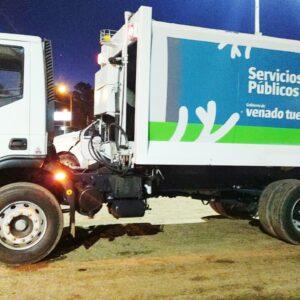 Por una ciudad más limpia: el Gobierno Municipal activó un nuevo camión al servicio de recolección de residuos