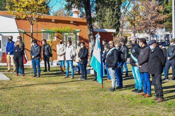 Emotivo homenaje a la Bandera y a su creador Manuel Belgrano