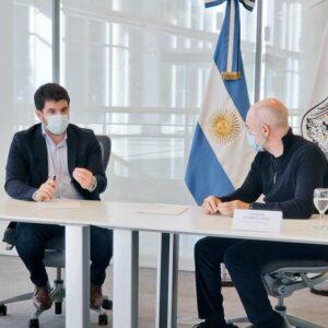 Nuevo encuentro entre Chiarella y Rodríguez Larreta: Venado Tuerto conectada con las grandes ciudades del país