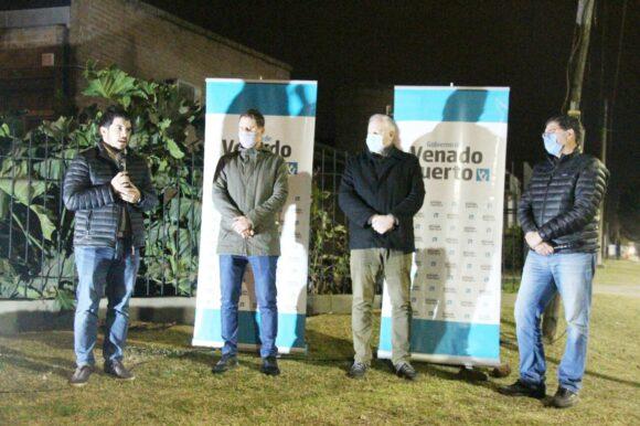 Ya es una realidad: se inauguró la nueva iluminación led en avenida Alem