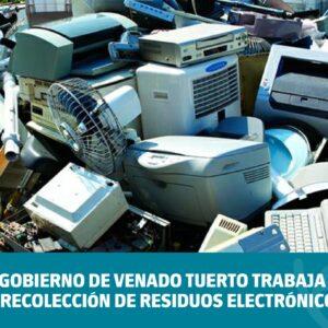 El Gobierno de Venado Tuerto trabaja en la recolección de residuos electrónicos