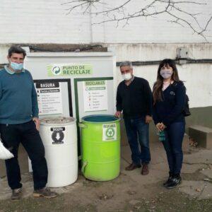 Una ciudad ecológica: el Gobierno Municipal puso en marcha la capacitación de separación de residuos