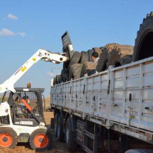 La Planta Intermedia de Residuos ya recolectó más de 1.400 neumáticos fuera de uso, con destino a reciclado