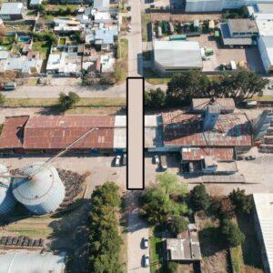 Acuerdo del Municipio con la Cooperativa Agropecuaria: se viene la apertura de calle Paz entre López y Pueyrredón
