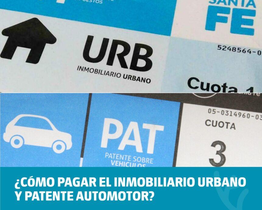 La Secretaría de Desarrollo Económico informa cómo pagar el Inmobiliario Urbano y Patente Automotor