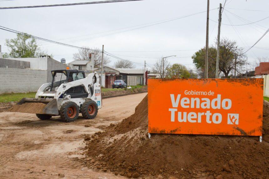 El Gobierno Municipal avanza con su Plan de Arreglo de Calles y Pavimentación
