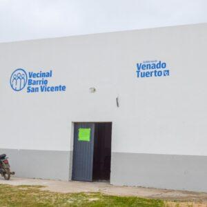 Desarrollo Humano lleva su equipo de trabajo territorial a la vecinal San Vicente