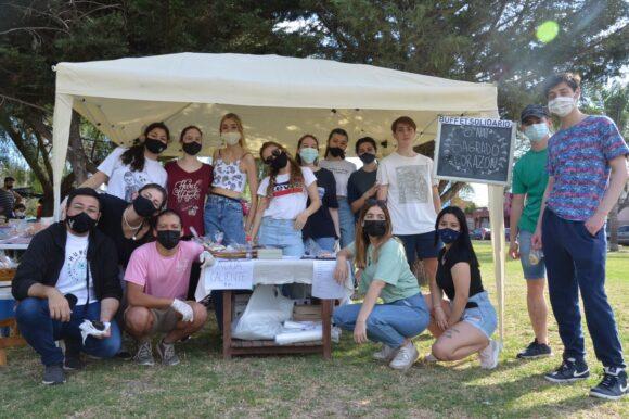 """Se Picó la 21"""": fuerte acompañamiento de la Dirección de Juventudes a los estudiantes de 5º y 6º año"""