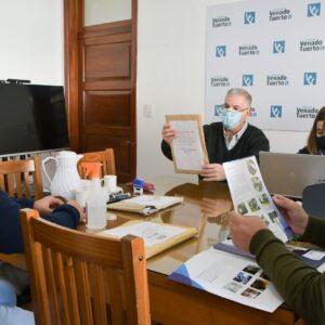 Tres oferentes en licitación para la compra de maquinaria para ejecutar cordones cuneta