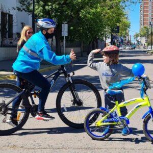 Venado Tuerto tuvo su primera experiencia de calle recreativa con el lanzamiento de «Con-vivamos»