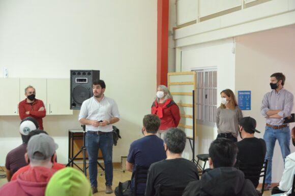 Comenzó el Curso de Operarios de Campo organizado por el Gobierno Municipal y la UNR