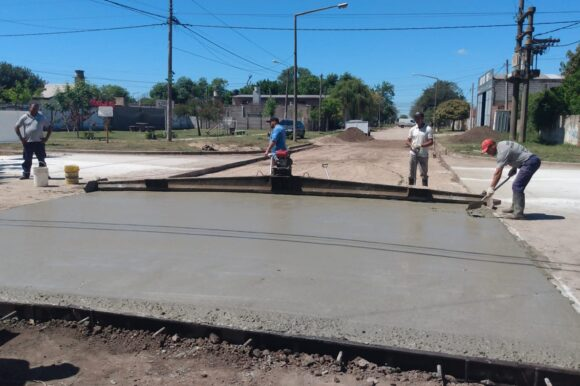 El Gobierno de Venado Tuerto refuerza su plan de arreglo de calles con nuevas pavimentaciones