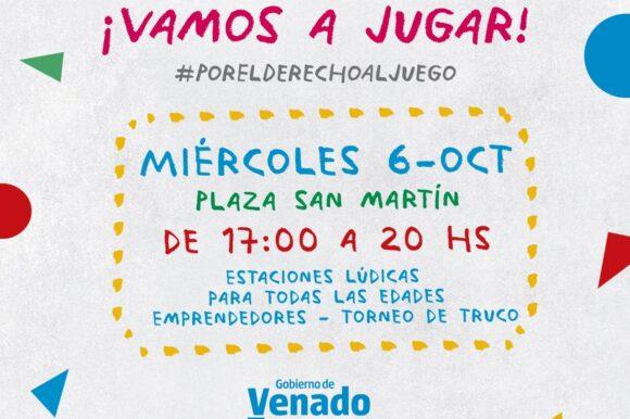 El Gobierno municipal convoca a festejar el Día del Juego y la Convivencia en la plaza San Martín