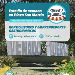 """""""Paseo de la Ciudad"""" en plaza San Martín y """"Paseo para las Infancias"""" en Parque de la Niñez"""