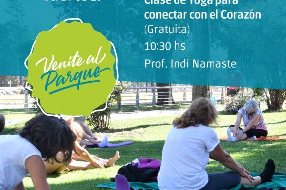 """El Paseo Ferial """"Venite al Parque"""" ofrecerá una clase de yoga gratuita"""